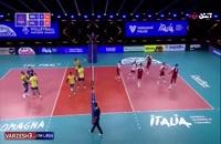 خلاصه بازی والیبال برزیل - لهستان