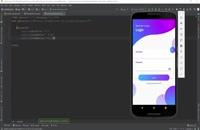 دوره طراحی UI و UX اندروید جلسه 12 رایگان  | الکامکو