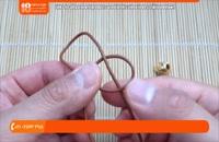 آموزش دستبند و کیف چرمی | دستبند چرمی مارپیچ