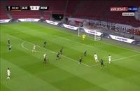 خلاصه مسابقه فوتبال آژاکس 1 - آاس رم 2