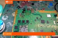 آموزش تعمیر پلی استیشن - شکستن پورت HDMI پلی استیشن 4