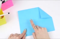 درست کردن جعبه کاغذی