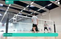 آموزش دفاع در والیبال
