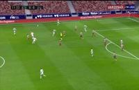 خلاصه بازی فوتبال اتلتیکو مادرید 2 - وایادولید 0
