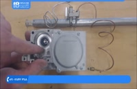 آموزش تعمیر کولر گازی - روش کار ترموکوپل و شیرفلکه گاز