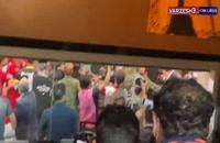 زد و خورد باورنکردنی در مسابقه پرسپولیس - سپاهان