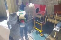 ادامه پیشگیری از کرونا ویروس در کمپ ترک اعتیاد رهپویان آوای رهایی