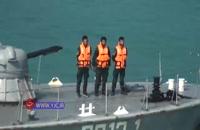 نمایش اقتدار دریادلان منطقه دوم نیروی دریایی سپاه در خلیج فارس همزمان با روز نیروی دریایی سپاه