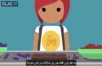 رژیم غذایی سالم - آموزش ابتدایی به کودکان در مورد تغذیه سالم