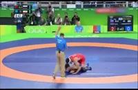 خاطره انگیز - حسن یزدانی در المپیک