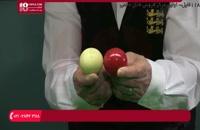 بیلیارد - خط potting ( هدف در طول خط )