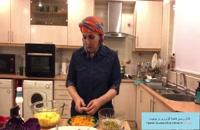 آموزش آشپزی سالاد ساده مناسب برای گیاهخواران