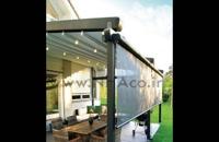 حقانی 09380039391-سقف اتوماتیک کافه رستوران-فروش سقف برقی روفگاردن