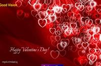 کلیپی بسیار عاشقانه و زیبا برای تبریک ولنتاین