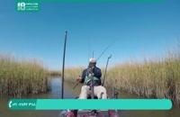 آموزش ماهیگیری در رودخانه