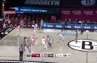 خلاصه بازی بسکتبال بروکلین نتس - میامی هیت