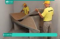 نوار چسب جداکننده برای جلوگیری از ترک کناف سقف