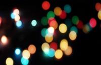 ویدیو فوتیج بوکه های رنگارنگ 13