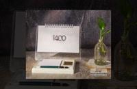 تقویم رومیزی تبلیغاتی آوای عرشیا | یکی از بهترین روش های برندینگ در تبلیغات سنتی