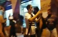 ویدیو غارت ساختمان انجمن بانک های لبنان