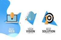 پروژه افترافکت تیزر خدمات آنلاین