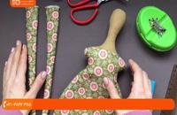 آموزش دوخت عروسک تیلدا - آموزش دوخت پاها به بدن عروسک