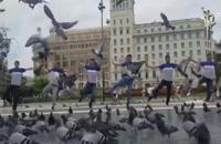 رقص آذری توسط آیلانی ها در بارسلونا