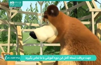 انیمیشن ماشا و میشا دوبله فارسی - معلم رقص