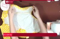 آموزش دوخت سیسمونی نوزاد - آموزش دوخت لباس کیمونو نوزاد