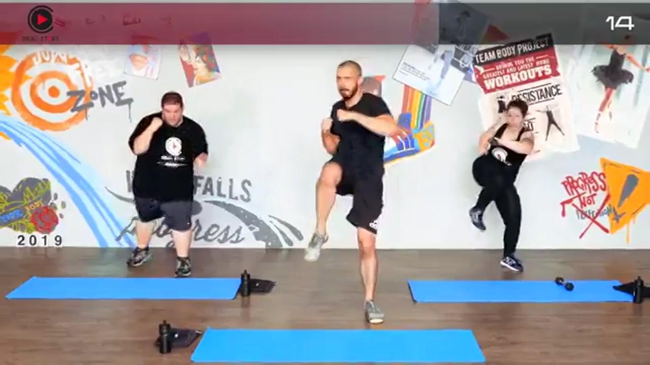 ویدیو ورزش در خانه برای افراد مبتدی