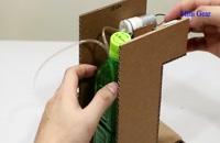 ساخت دستگاه ضدعفونی کننده اتوماتیک در خانه