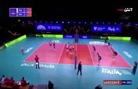 خلاصه بازی والیبال صربستان - هلند