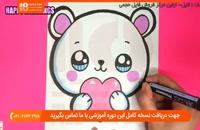 آموزش نقاشی به کودکان - نحوه نقاشی کردن