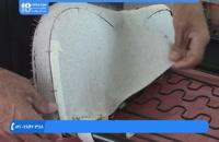 آموزش تودوزی خودرو - اندازه گیری کناره های صندلی اسپرت