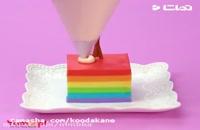 ترفند هایی برای دسرهای رنگی