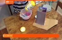 شمع سازی -  ساخت شمع های بطری شکل