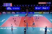 خلاصه بازی والیبال لهستان - آرژانتین