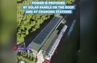 اولین قطار تمام خورشیدی جهان