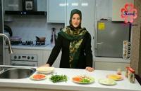 آموزش طرز تهیه کسادیا سبزیجات
