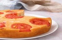 کیک گوجه ای