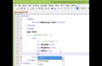 قسمت چهارم آموزش HTML و CSS