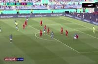 خلاصه بازی فوتبال ایتالیا - ولز