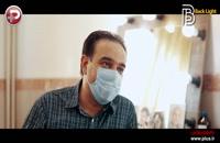مصاحبه با برزو ارجمند در پشت صحنه  فیلم سینمایی برای مرجان