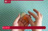 آموزش دوخت جا کلیدی طرح سنجاب با نمد