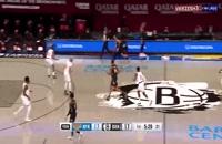 خلاصه بازی بسکتبال بروکلین نتس - نیویورک نیکس
