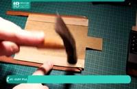 ساده ترین روش ساخت جامدادی با چرم