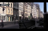 سکوت تعطیلی مترو در پاریس