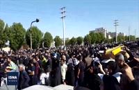 تشییع پیکر ابومهدی المهندس در آبادان و خرمشهر