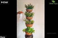 طریقه ساخت باغچه برای فضای کوچک