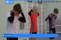 آموزش والیبال کودکان - تمرینهای قبل بازی و گرم کردن